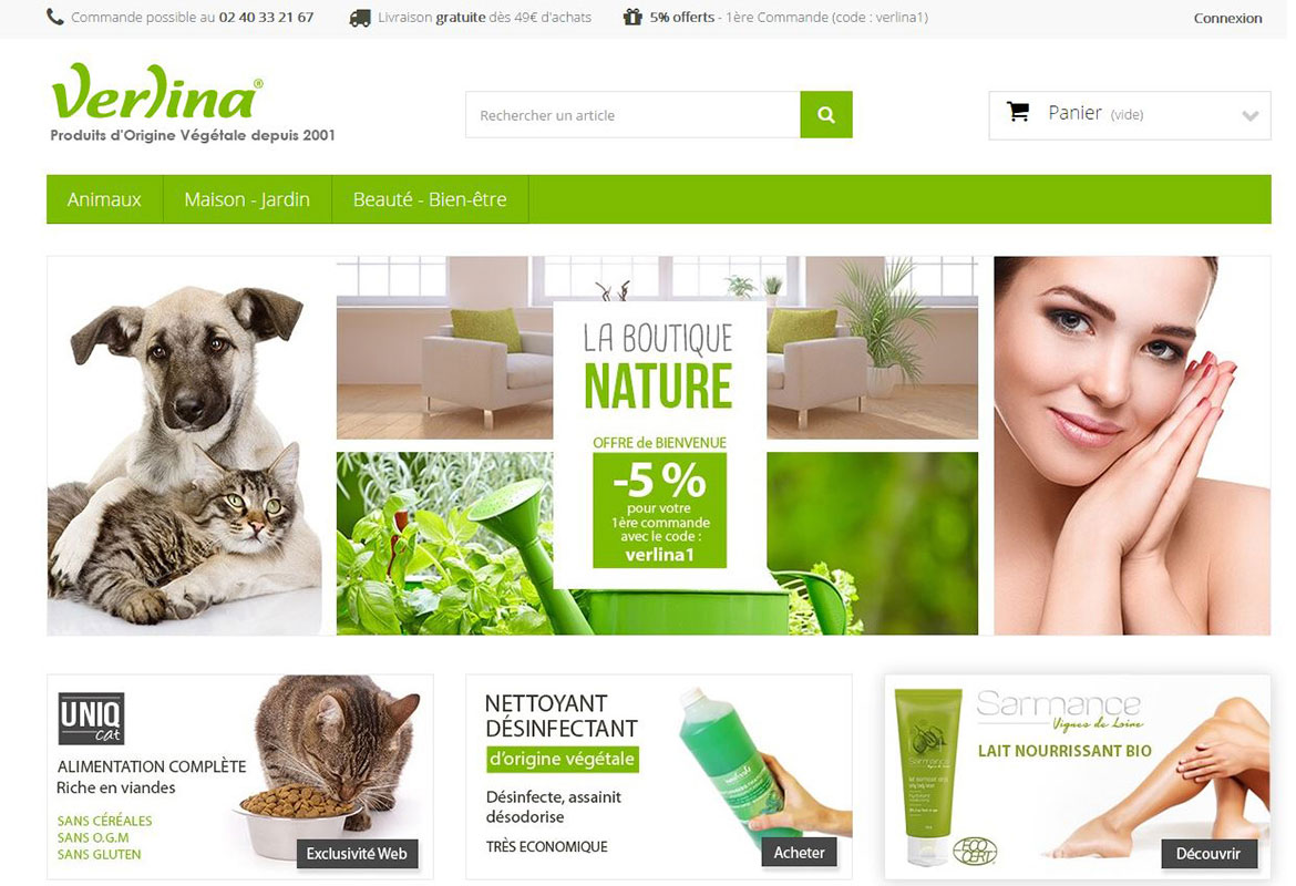 prestashop verlina